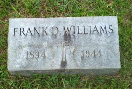 WILLIAMS, FRANK D - Craighead County, Arkansas | FRANK D WILLIAMS - Arkansas Gravestone Photos