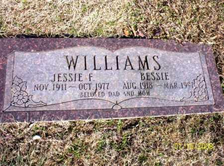 WILLIAMS, JESSIE  F. - Craighead County, Arkansas | JESSIE  F. WILLIAMS - Arkansas Gravestone Photos