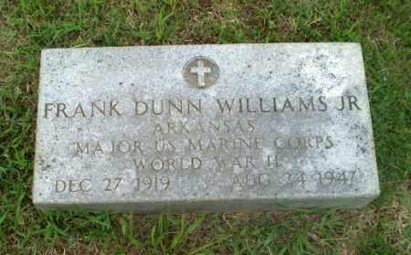 WILLIAMS, JR  (VETERAN WWII), FRANK DUNN - Craighead County, Arkansas | FRANK DUNN WILLIAMS, JR  (VETERAN WWII) - Arkansas Gravestone Photos