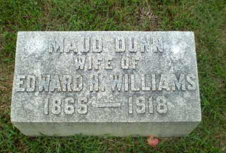 WILLIAMS, MAUD DUNN - Craighead County, Arkansas   MAUD DUNN WILLIAMS - Arkansas Gravestone Photos
