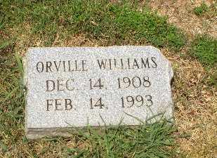 WILLIAMS, ORVILLE - Craighead County, Arkansas | ORVILLE WILLIAMS - Arkansas Gravestone Photos
