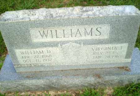 WILLIAMS, WILLIAM D - Craighead County, Arkansas | WILLIAM D WILLIAMS - Arkansas Gravestone Photos