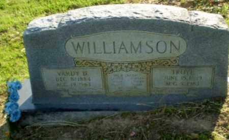 WILLIAMSON, VARDY D - Craighead County, Arkansas   VARDY D WILLIAMSON - Arkansas Gravestone Photos