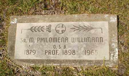 WILLIMANN, SISTER M. PHILOMENA - Craighead County, Arkansas | SISTER M. PHILOMENA WILLIMANN - Arkansas Gravestone Photos