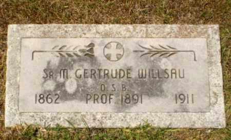 WILLSAU, SISTER M. GERTRUDE - Craighead County, Arkansas | SISTER M. GERTRUDE WILLSAU - Arkansas Gravestone Photos