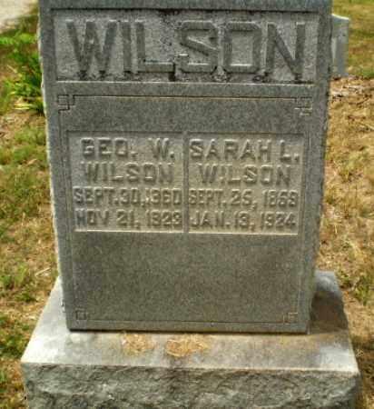 WILSON, SARAH L - Craighead County, Arkansas | SARAH L WILSON - Arkansas Gravestone Photos
