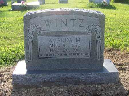 WINTZ, AMANDA M. - Craighead County, Arkansas | AMANDA M. WINTZ - Arkansas Gravestone Photos