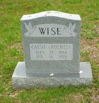 WISE, CASSIE - Craighead County, Arkansas | CASSIE WISE - Arkansas Gravestone Photos