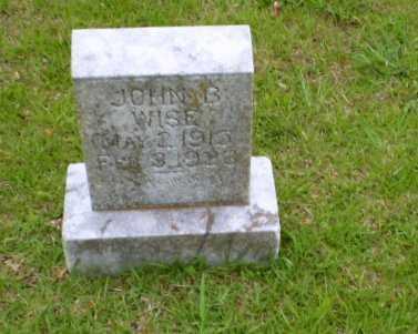 WISE, JOHN B - Craighead County, Arkansas   JOHN B WISE - Arkansas Gravestone Photos