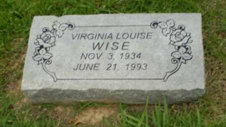 WISE, VIRGINIA - Craighead County, Arkansas   VIRGINIA WISE - Arkansas Gravestone Photos