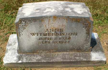 WITHERSPOON, ANNE - Craighead County, Arkansas | ANNE WITHERSPOON - Arkansas Gravestone Photos