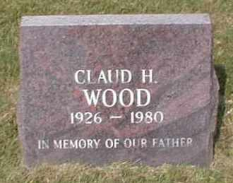 WOOD, CLAUD H. - Craighead County, Arkansas | CLAUD H. WOOD - Arkansas Gravestone Photos