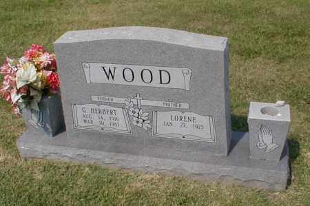 WOOD, GEORGE HERBERT - Craighead County, Arkansas | GEORGE HERBERT WOOD - Arkansas Gravestone Photos