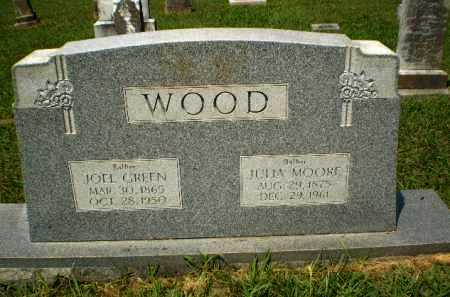MOORE WOOD, JULIA - Craighead County, Arkansas | JULIA MOORE WOOD - Arkansas Gravestone Photos