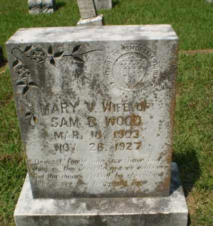 WOOD, MARY V - Craighead County, Arkansas   MARY V WOOD - Arkansas Gravestone Photos