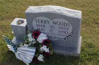 WOODS, TERRY - Craighead County, Arkansas | TERRY WOODS - Arkansas Gravestone Photos