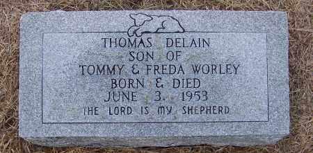 WORLEY, THOMAS DELAIN - Craighead County, Arkansas | THOMAS DELAIN WORLEY - Arkansas Gravestone Photos