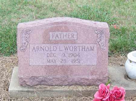 WORTHAM, ARNOLD L. - Craighead County, Arkansas | ARNOLD L. WORTHAM - Arkansas Gravestone Photos
