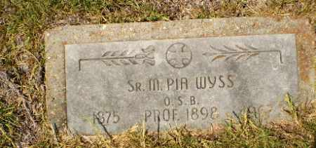 WYSS, SISTER M. PIA - Craighead County, Arkansas | SISTER M. PIA WYSS - Arkansas Gravestone Photos