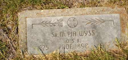 WYSS, SISTER M. PIA - Craighead County, Arkansas   SISTER M. PIA WYSS - Arkansas Gravestone Photos