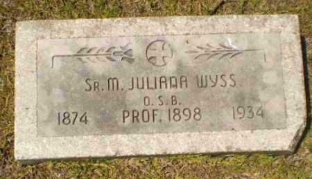 WYSS, SISTER M. JULIANA - Craighead County, Arkansas | SISTER M. JULIANA WYSS - Arkansas Gravestone Photos