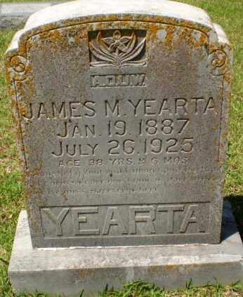 YEARTA, JAMES M. - Craighead County, Arkansas   JAMES M. YEARTA - Arkansas Gravestone Photos