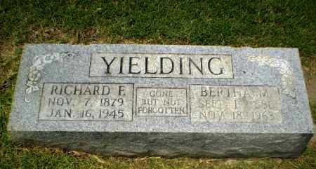YIELDING, RICHARD E - Craighead County, Arkansas   RICHARD E YIELDING - Arkansas Gravestone Photos