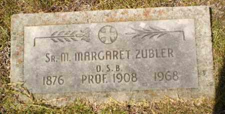 ZUBLER, SISTER M. MARGARET - Craighead County, Arkansas | SISTER M. MARGARET ZUBLER - Arkansas Gravestone Photos