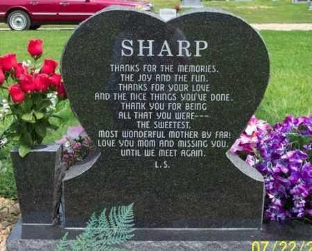 BRANNON SHARP, MANTLEE JUANITA - Craighead County, Arkansas | MANTLEE JUANITA BRANNON SHARP - Arkansas Gravestone Photos