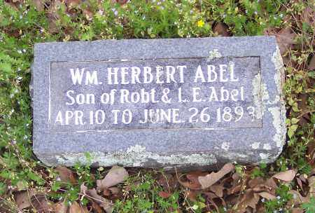 ABEL, WILLIAM HERBERT - Crawford County, Arkansas | WILLIAM HERBERT ABEL - Arkansas Gravestone Photos
