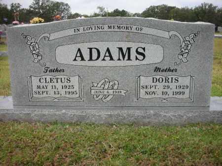 ADAMS, DORIS - Crawford County, Arkansas   DORIS ADAMS - Arkansas Gravestone Photos