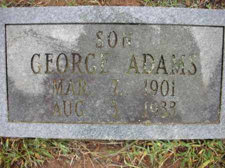 ADAMS, GEORGE A. - Crawford County, Arkansas | GEORGE A. ADAMS - Arkansas Gravestone Photos