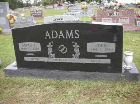 ADAMS, JOHN PHILIP - Crawford County, Arkansas | JOHN PHILIP ADAMS - Arkansas Gravestone Photos