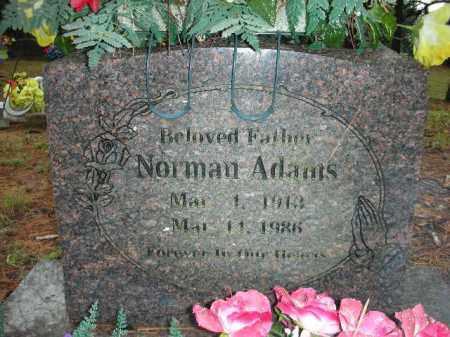ADAMS, NORMAN - Crawford County, Arkansas   NORMAN ADAMS - Arkansas Gravestone Photos