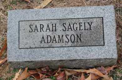 ADAMSON, SARAH - Crawford County, Arkansas | SARAH ADAMSON - Arkansas Gravestone Photos