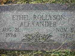 ALEXANDER, ETHEL - Crawford County, Arkansas   ETHEL ALEXANDER - Arkansas Gravestone Photos