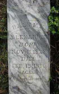 ALEXANDER, WILLIAM M. - Crawford County, Arkansas | WILLIAM M. ALEXANDER - Arkansas Gravestone Photos