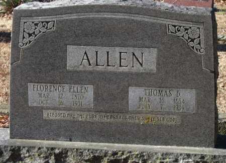 ALLEN, FLORENCE ELLEN - Crawford County, Arkansas   FLORENCE ELLEN ALLEN - Arkansas Gravestone Photos