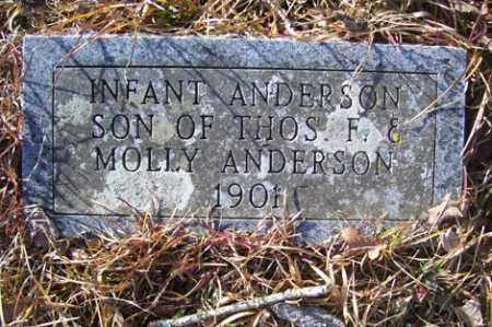 ANDERSON, INFANT SON - Crawford County, Arkansas   INFANT SON ANDERSON - Arkansas Gravestone Photos