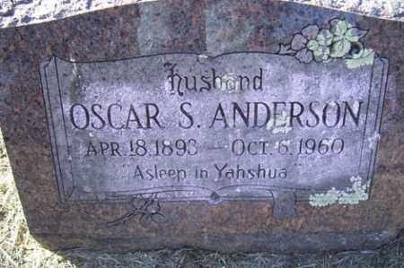 ANDERSON, OSCAR S - Crawford County, Arkansas | OSCAR S ANDERSON - Arkansas Gravestone Photos