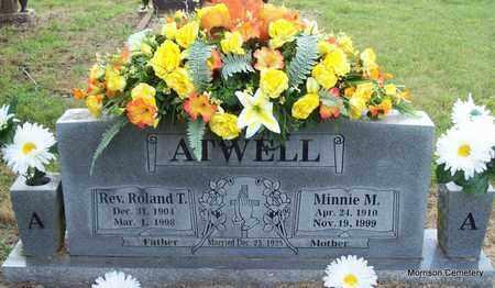 LARUE ATWELL, MINNIE M - Crawford County, Arkansas   MINNIE M LARUE ATWELL - Arkansas Gravestone Photos
