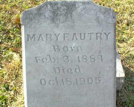 AUTRY, MARY F. - Crawford County, Arkansas   MARY F. AUTRY - Arkansas Gravestone Photos