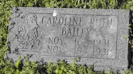 BAILEY, CAROLINE RUTH - Crawford County, Arkansas | CAROLINE RUTH BAILEY - Arkansas Gravestone Photos