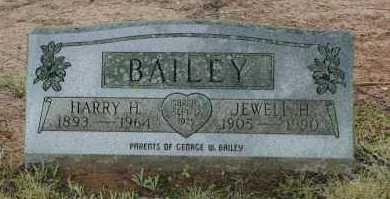 BAILEY, HARRY H. - Crawford County, Arkansas | HARRY H. BAILEY - Arkansas Gravestone Photos