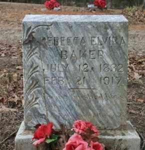 BAKER, REBECCA ELVIRA - Crawford County, Arkansas | REBECCA ELVIRA BAKER - Arkansas Gravestone Photos