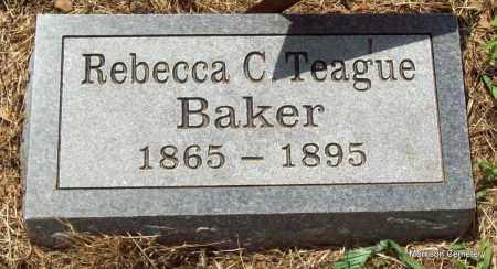 BAKER, REBECCA C - Crawford County, Arkansas | REBECCA C BAKER - Arkansas Gravestone Photos