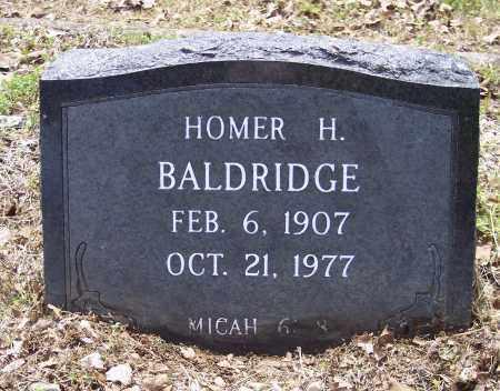 BALDRIDGE, HOMER H - Crawford County, Arkansas   HOMER H BALDRIDGE - Arkansas Gravestone Photos