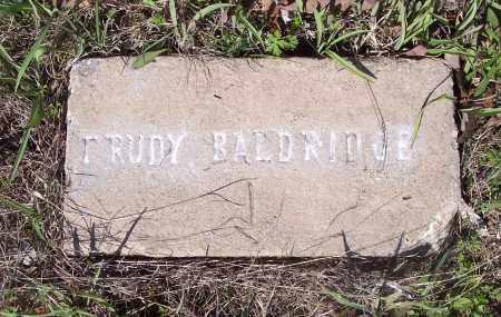 BALDRIDGE, TRUDY - Crawford County, Arkansas | TRUDY BALDRIDGE - Arkansas Gravestone Photos