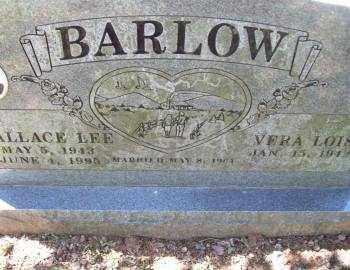 BARLOW, WALLACE LEE - Crawford County, Arkansas   WALLACE LEE BARLOW - Arkansas Gravestone Photos