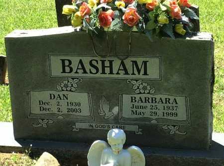BASHAM, DAN - Crawford County, Arkansas | DAN BASHAM - Arkansas Gravestone Photos